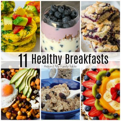 11 Healthy Breakfast Ideas