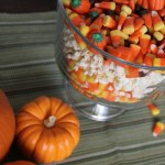 Fall Popcorn Centerpiece