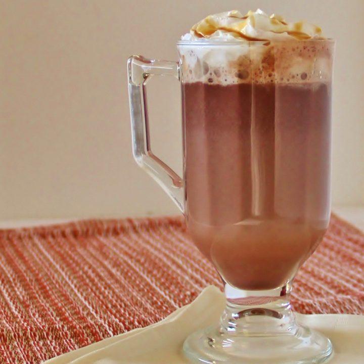 Decadent Caramel Hot Cocoa