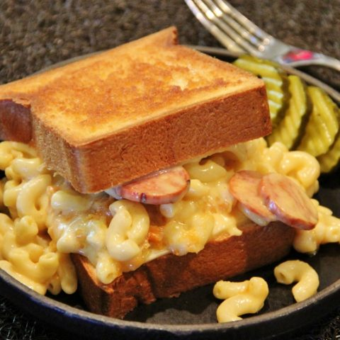 Grilled Mac and Cheese Sandwiches