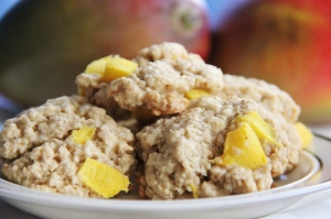 Mango Spiced Oatmeal Cookies