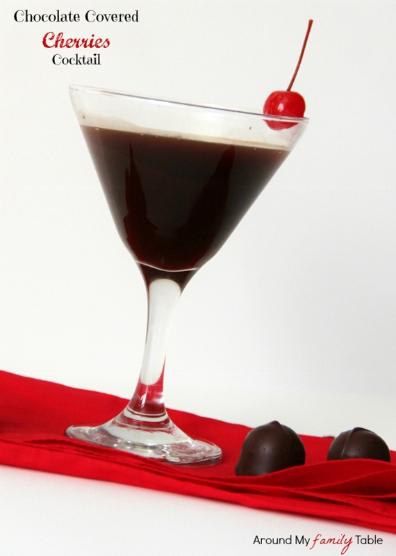 Chocolate Covered Cherries Cocktail