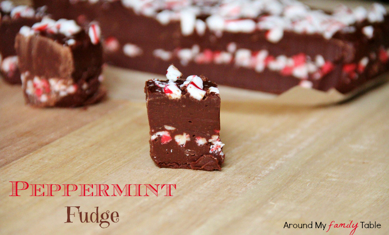 Simple Gourmet Peppermint Fudge
