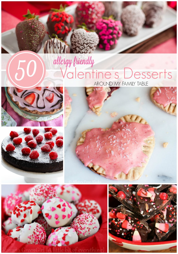 Allergy Friendly Valentine's Day Desserts