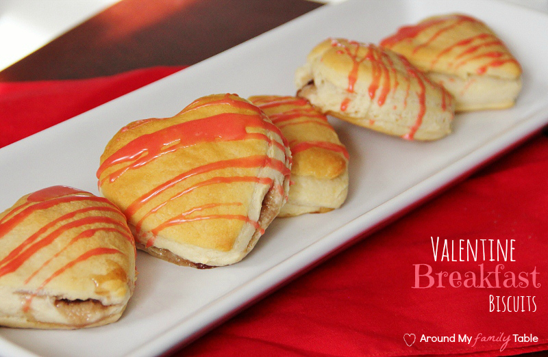 Valentine Breakfast Biscuits