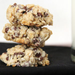 Coconut Chocolate Chip Oatmeal Cookies