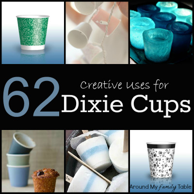 62 Creative Uses for Dixie Cups