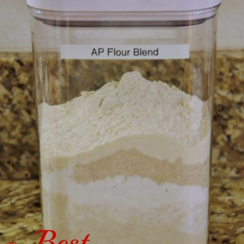 The Best Gluten Free AP Flour Blend