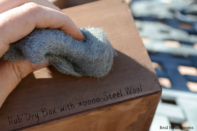 Rub with Steel Wool