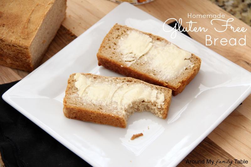 Homemade Gluten Free (and vegan) Bread