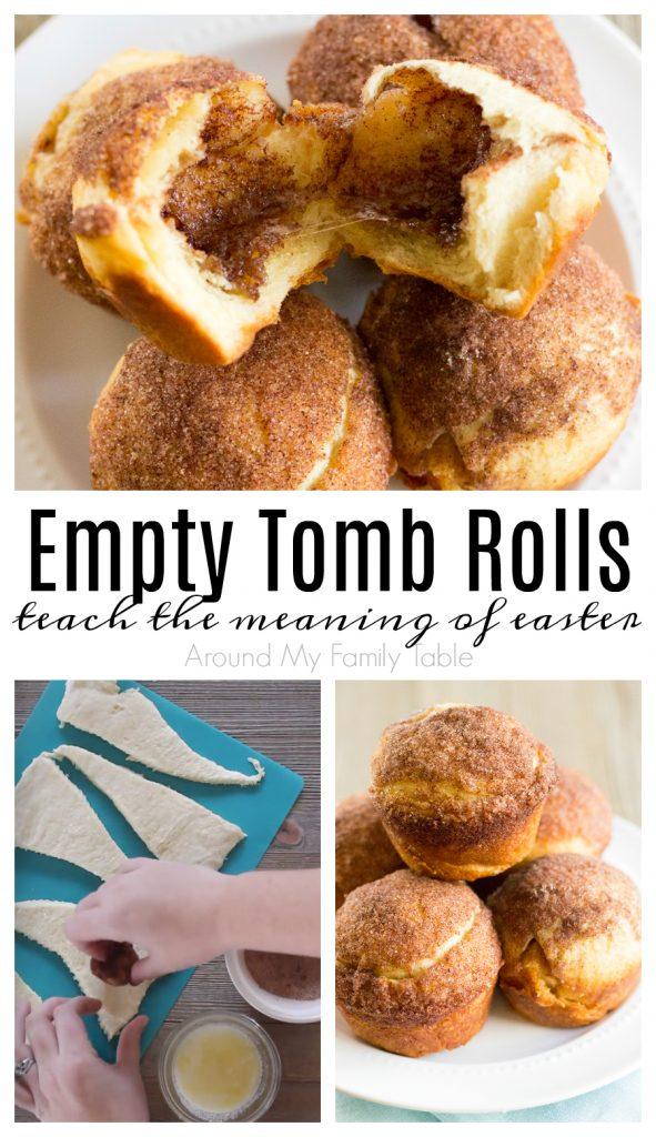 empty tomb rolls collage