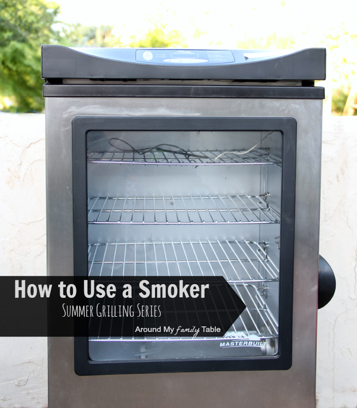 My favorite way to cook in the backyard is with my smoker. I prefer an electric smoker because it's quick and easy, but there are other options. I've written two smoker cookbooks and it's something I'm passionate about sharing. Learn my tips for using a smoker for cooking out all year long.