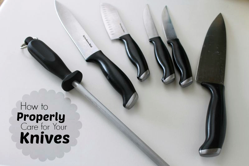 How to Properly Care for Knives