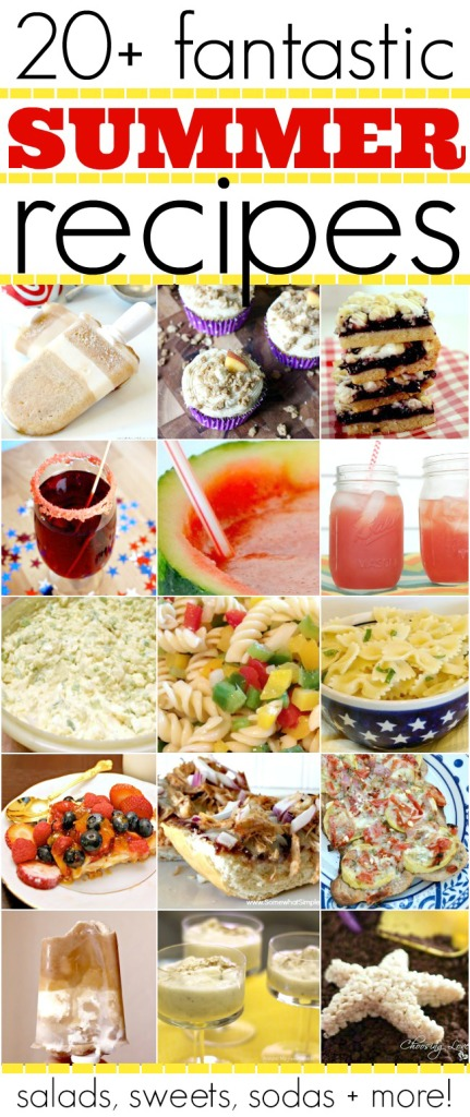 Plus, EVMG has teamed up with a bunch of other great bloggers today to bring you a bunch of Summertime Inspired Recipes!