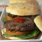 Cooking 101 Basics Week #6 – Homemade Hamburgers