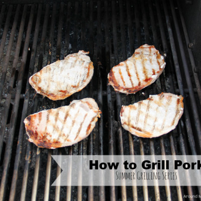 How to Grill Pork