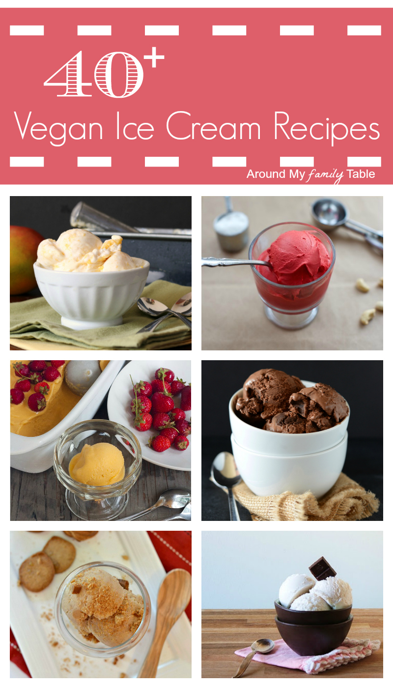 40+ Luscious Vegan Ice Cream Recipes