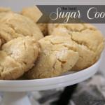 Cooking 101 Basics Week #10 – Sugar Cookies