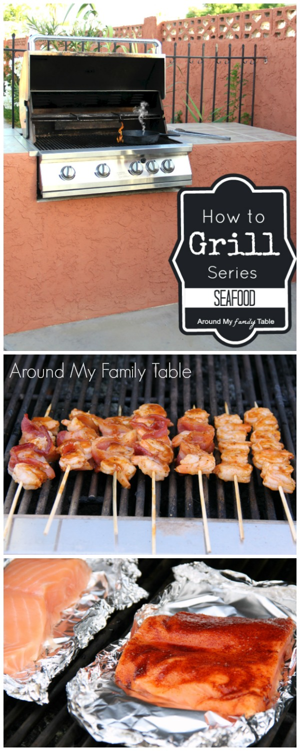 Learn How to Grill Seafood in this great grilling series!