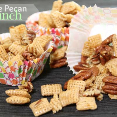 Praline Pecan Crunch Snack Mix