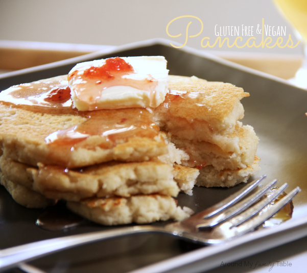Perfect Weekend Pancakes with gluten free, vegan, and traditional recipes!