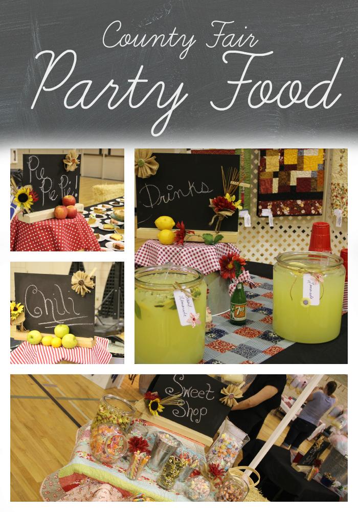 County Fair Party Food
