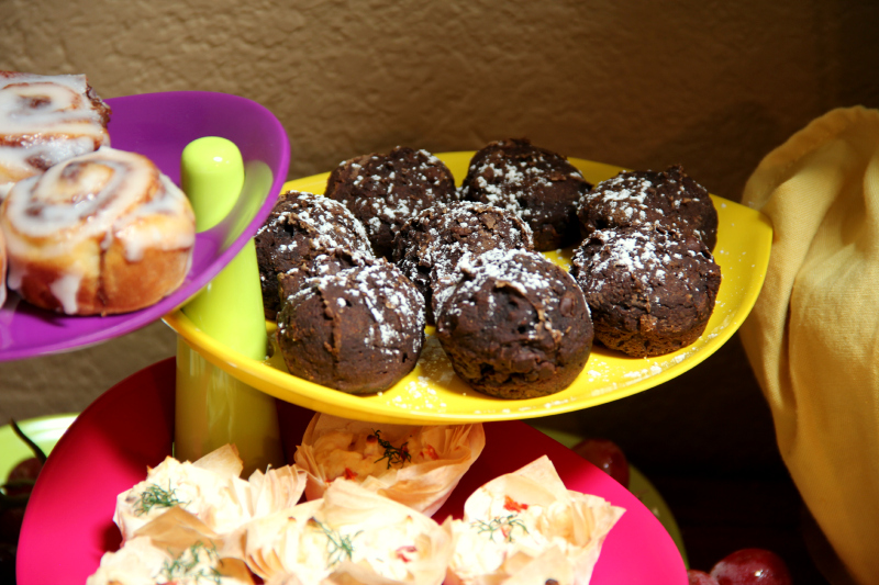 3 Ingredient Chocolate Muffins
