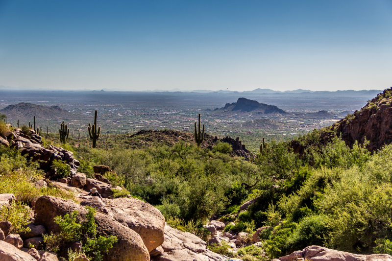 Hiking in the Superstition Mountains