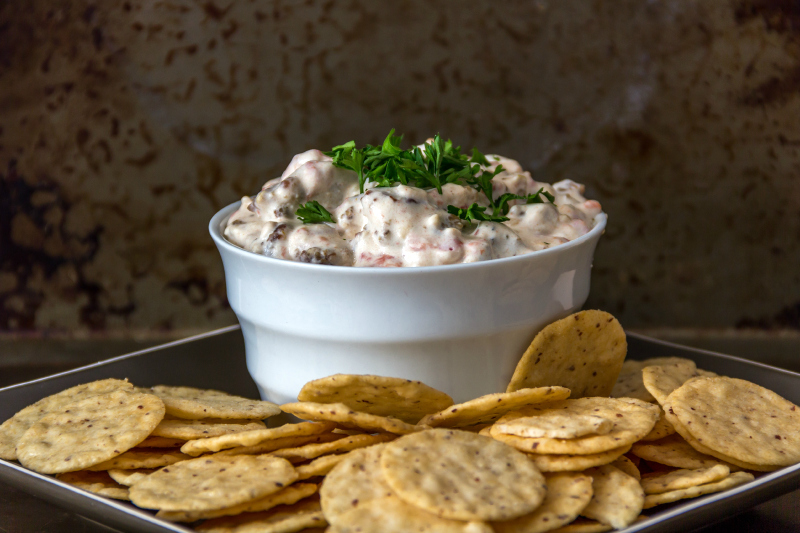 Slow Cooker Sausage Dip (gluten free, dairy free, & a vegan option too)