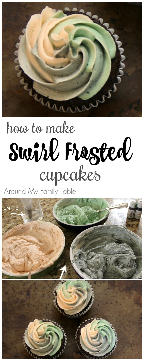 How to Make Swirl Frosted Cupcakes