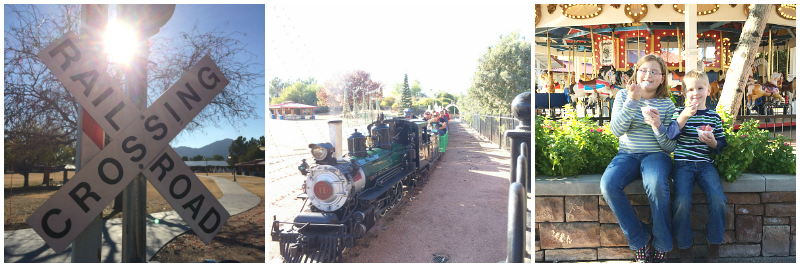 McCormick Stillman Railroad Park in Scottsdale AZ