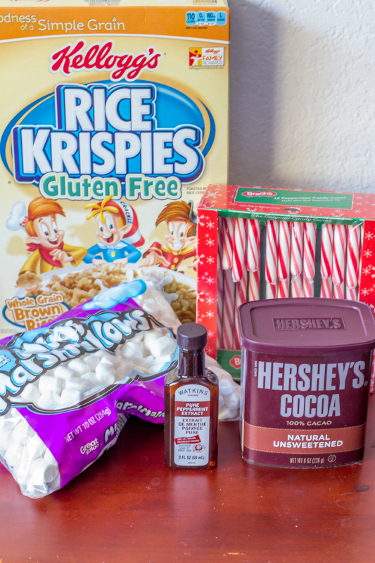 Chocolate Peppermint Rice Krispies Treats...perfect for the holidays! {and they're allergy friendly too}