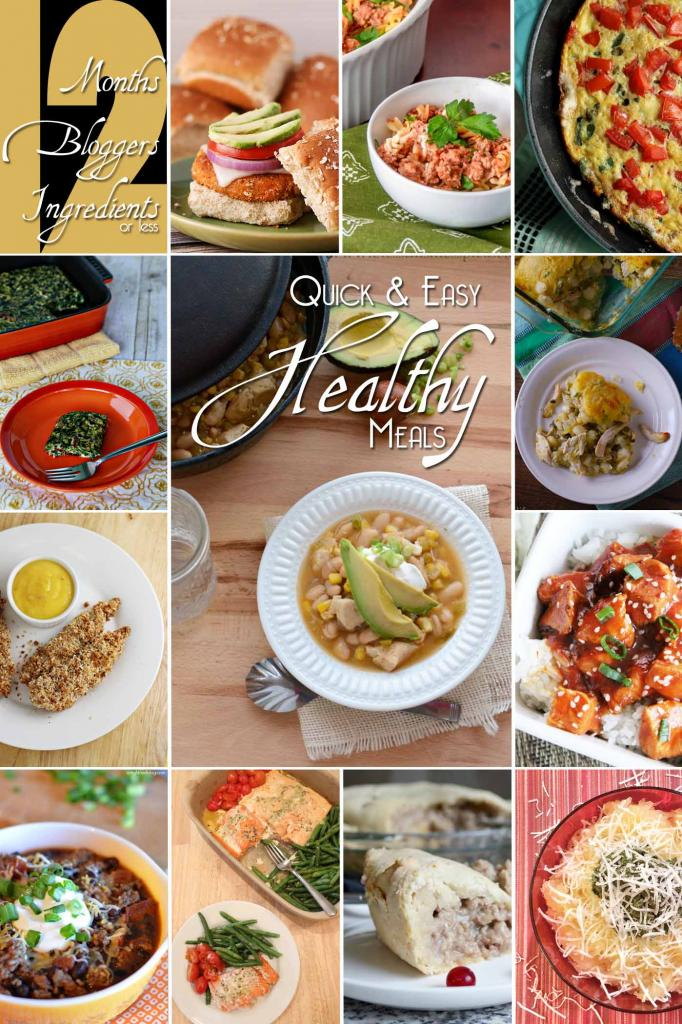 12 Healthy Meals from #12bloggers