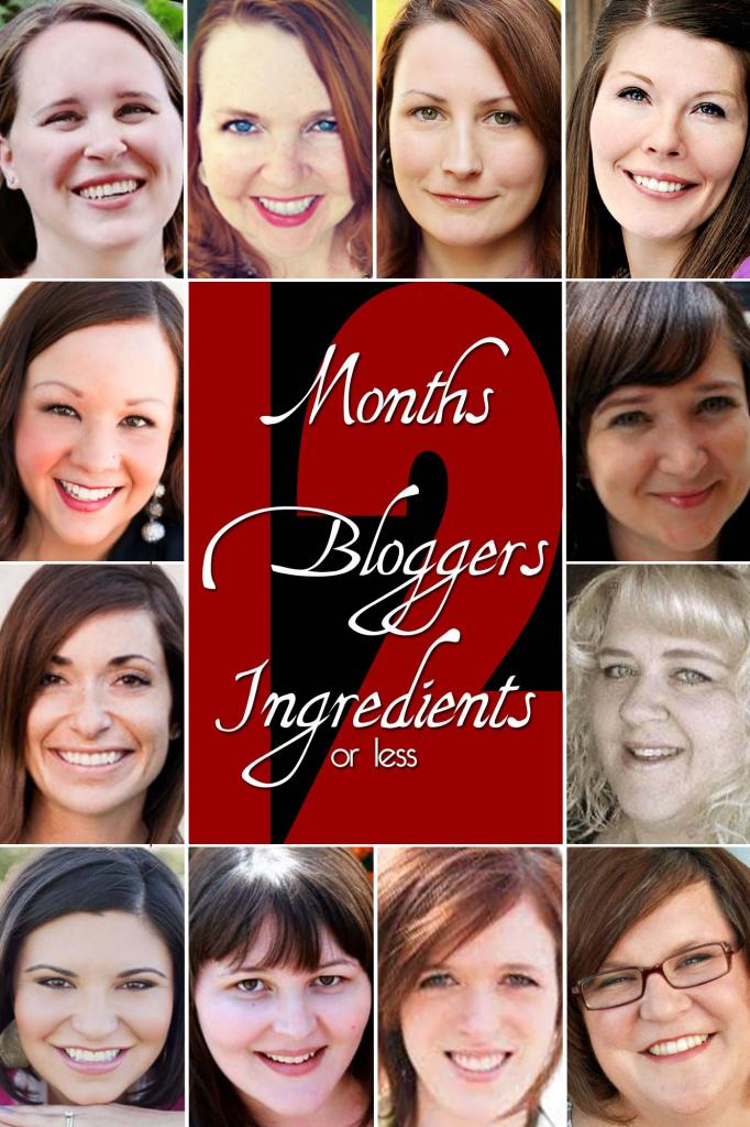 12Bloggers12Months12Ingredients #12bloggers