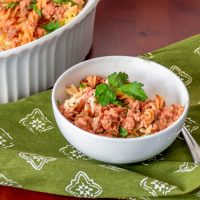 Clean Eating: Quick and Healthy Baked Ziti