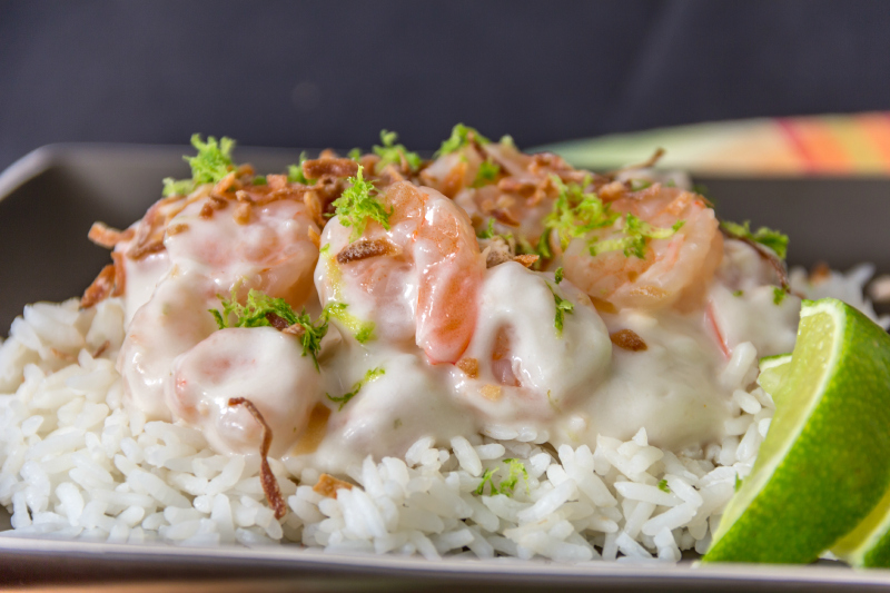 Creamy Coconut Shrimp #15MinuteSuppers