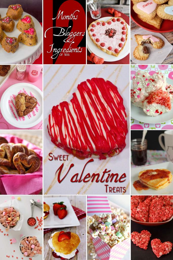 12 Heart Shaped Valentine's Sweets for Your Sweetie #12bloggers