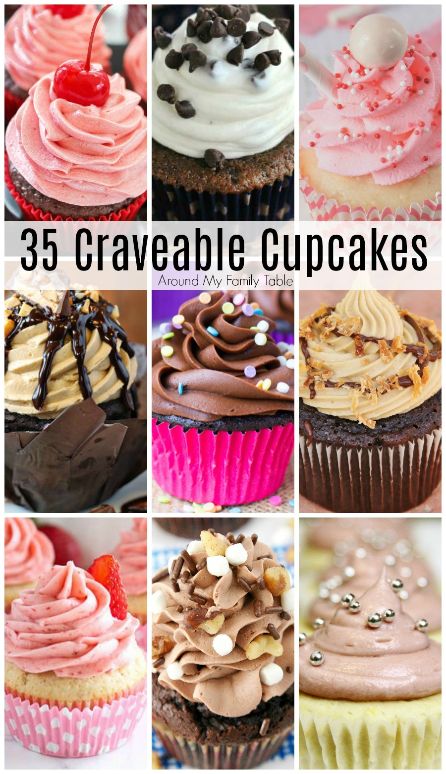 With Valentine's Day right around the corner, these 35 Craveable Cupcakes are sure to delight your sweetie.