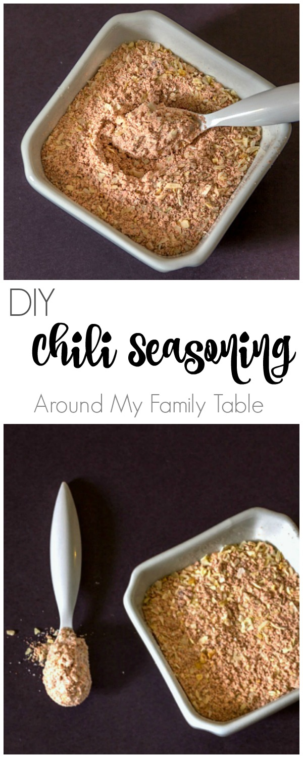 This Homemade Chili Seasoning Mix makes the most delicious and flavorful chili and it only takes a few minutes and a few ingredients found in most pantries.