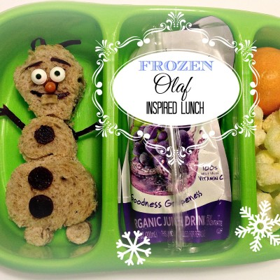Frozen: Olaf Inspired Lunch