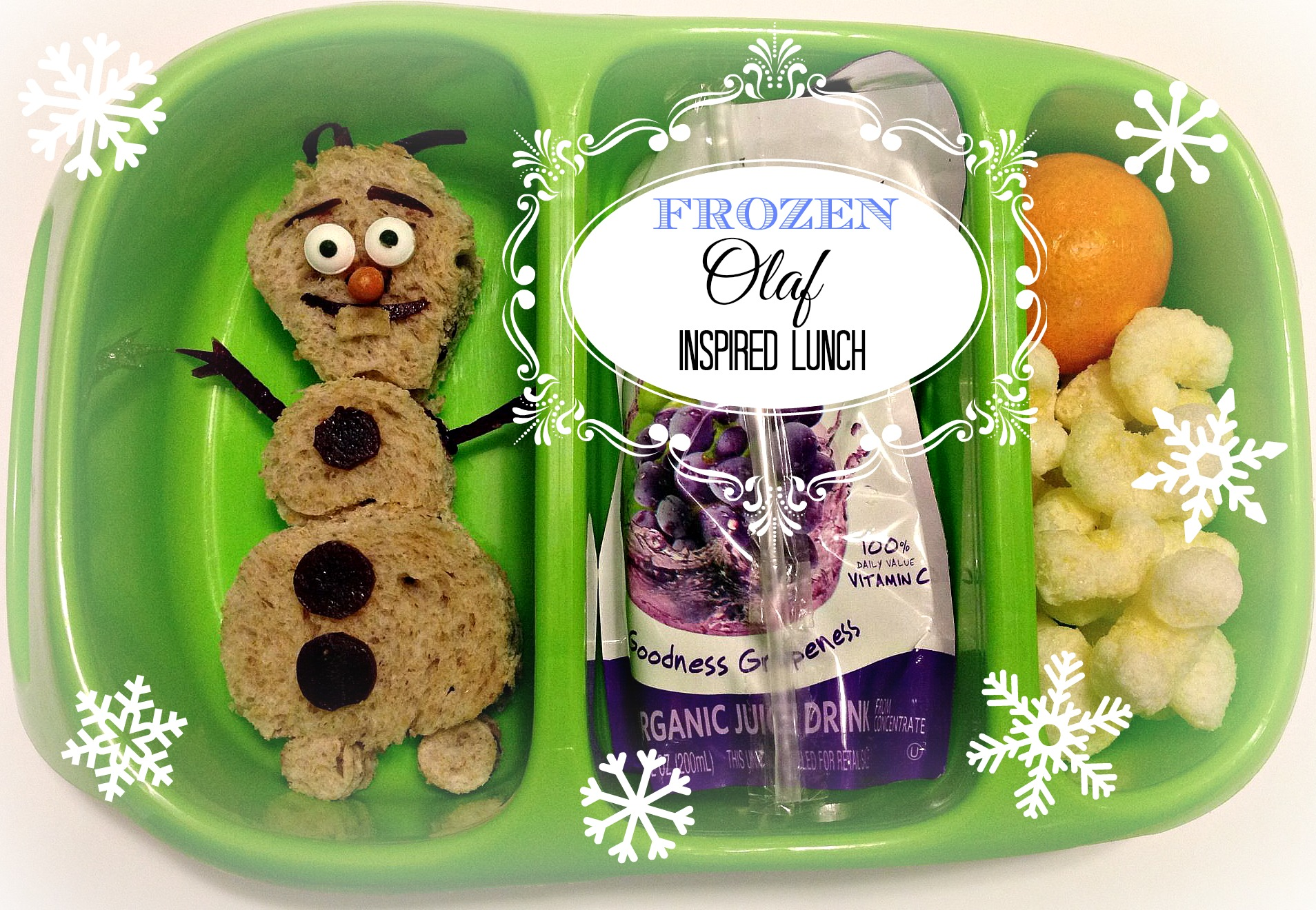 Olaf_Inspired_Lunch