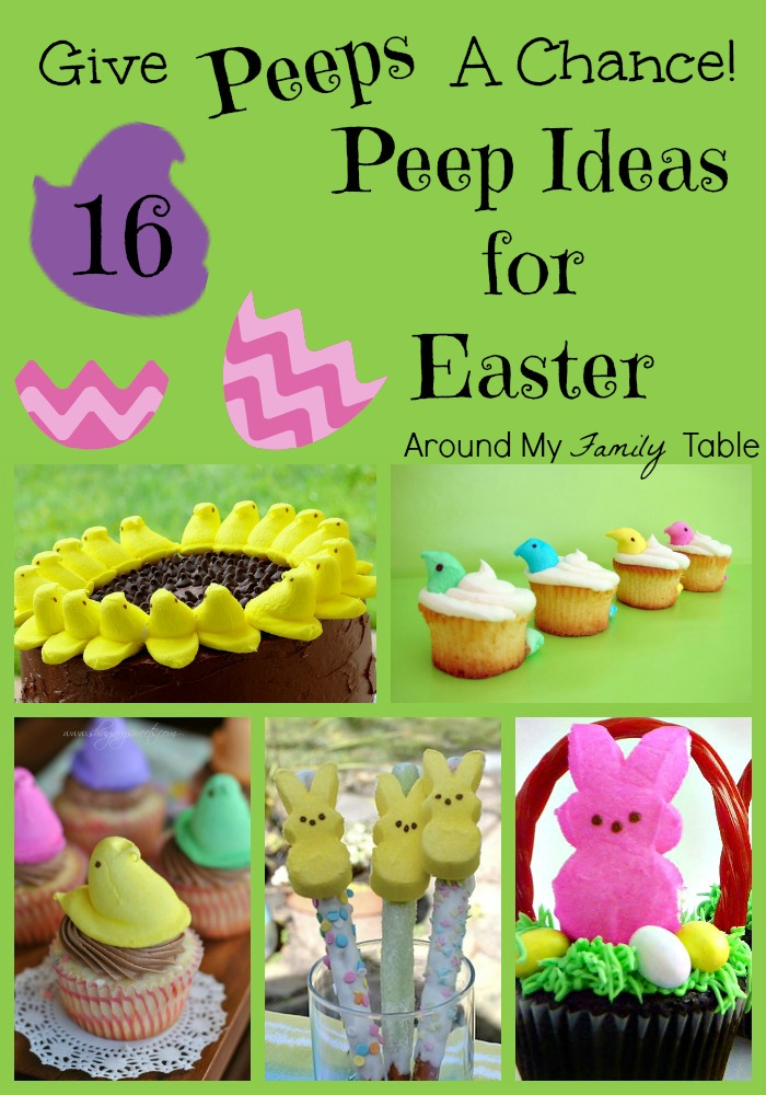 Peep Ideas for Easter