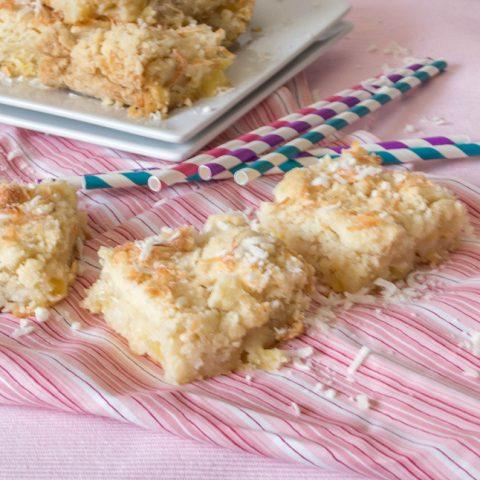 pineapple coconut gooey cake