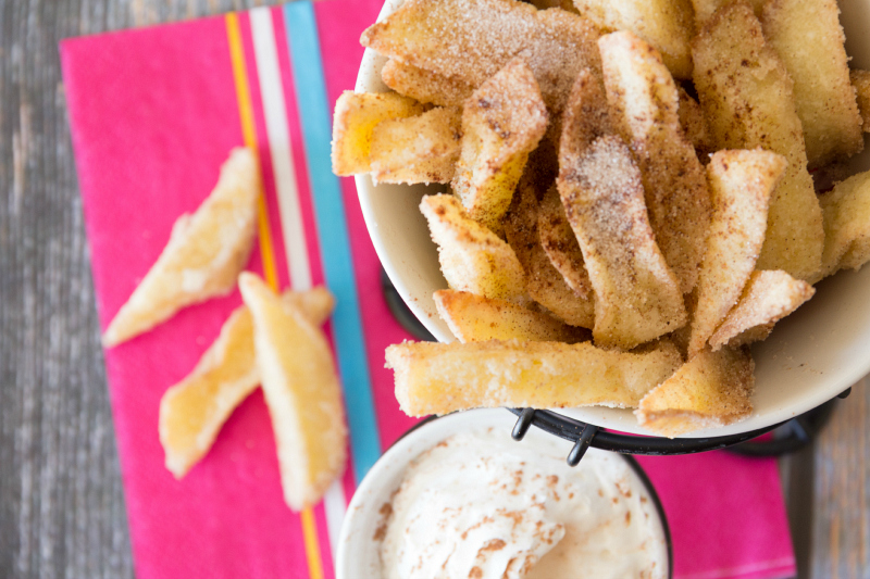 Apple Fries...these copycat apple fries taste just like the original at Legoland!