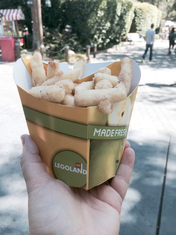 apple fries at legoland...and the best copycat recipe ever