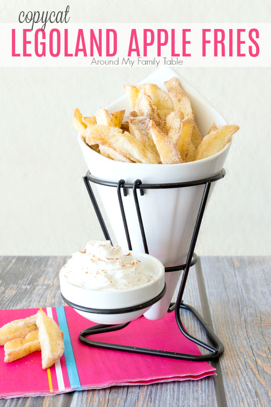 copycat legoland apple fries