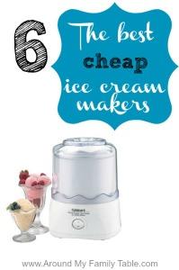 cheap ice cream makers