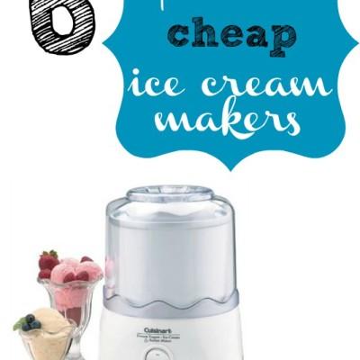 My Favorite Cheap Ice Cream Makers