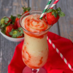 Lava Flow Smoothie