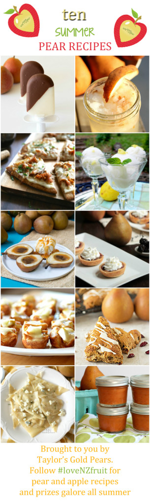 10 Summer Pear Recipes